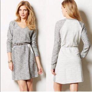 ANTHROPOLOGIE | SATURDAY SUNDAY gray jersey dress